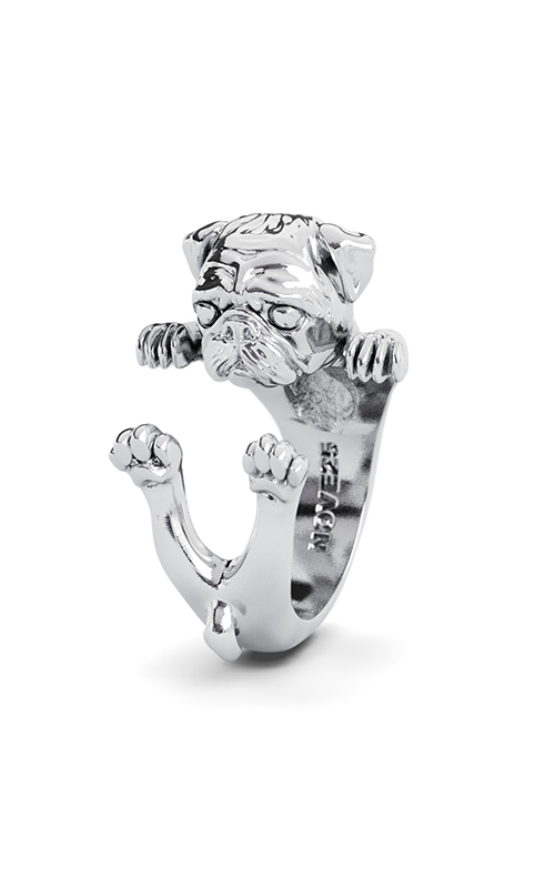 Dog Fever Hug Fashion ring PUG product image