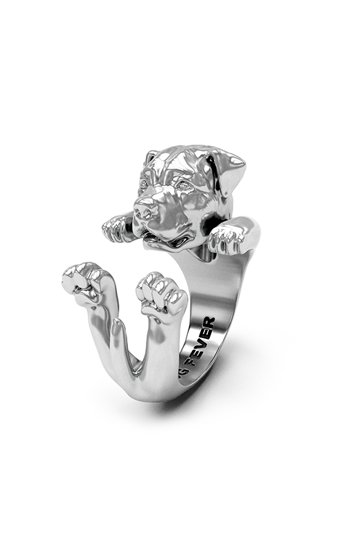 Dog Fever Hug Fashion ring ROTTWEILER product image