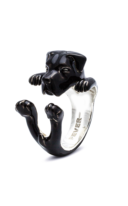 Dog Fever Enameled Hug Fashion ring CANE CORSO product image