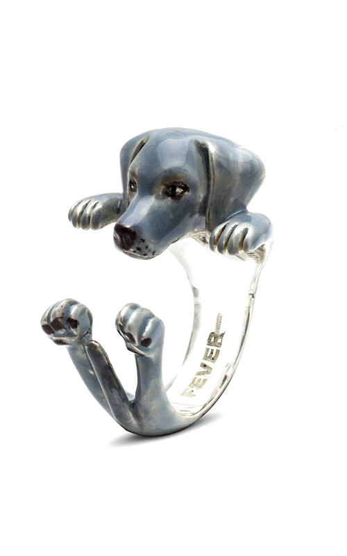 Dog Fever Enameled Hug Fashion ring WEIMARANER product image