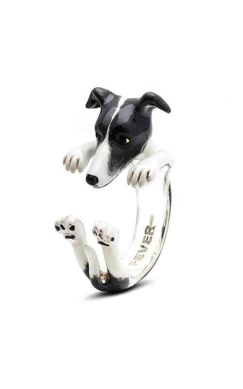 Dog Fever Enameled Hug Fashion ring WHIPPET product image