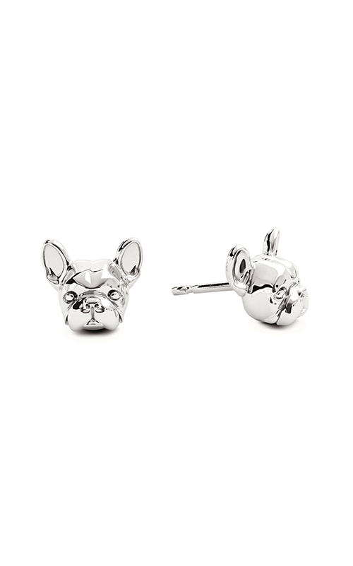 Dog Fever Head Earrings FRENCH BULLDOG product image