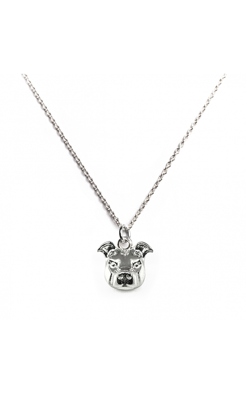 Dog Fever Head Necklace AMERICAN STAFFORDSHIRE product image