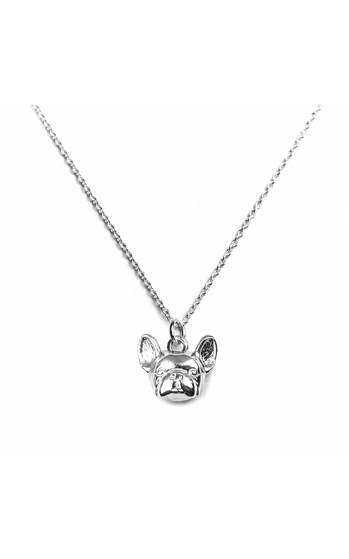 Dog Fever Head Necklace FRENCH BULLDOG product image