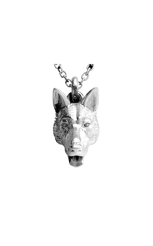 Dog Fever Head Necklace GERMAN SHEPHERD product image