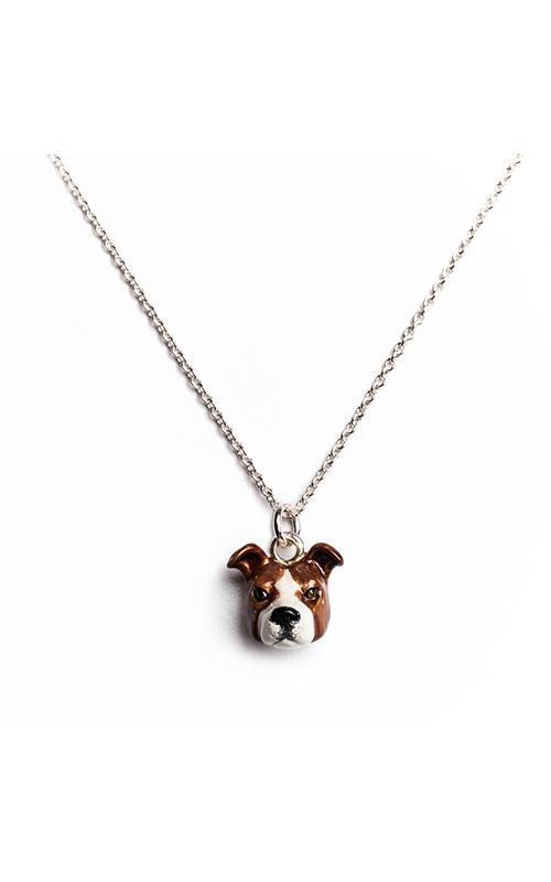 Dog Fever Enameled Head Necklace ENGLISH COCKER SPANIEL product image