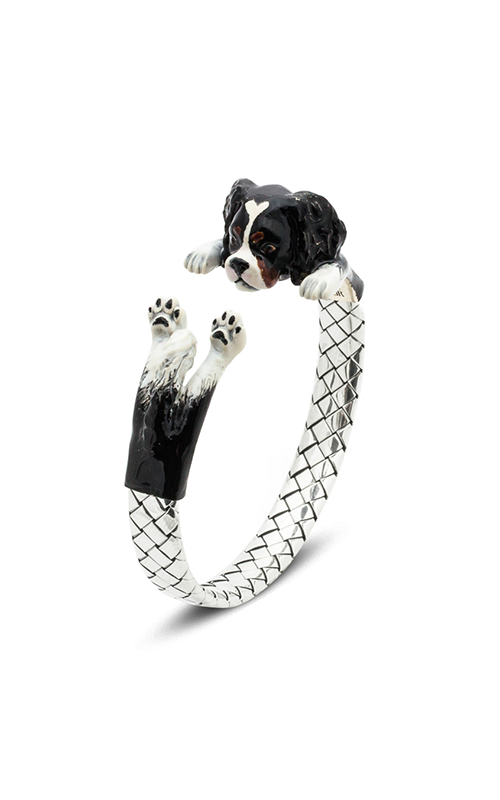 Dog Fever Enameled Hug Bracelet CAVALIER KING product image