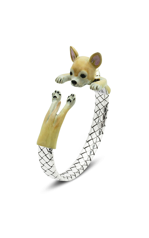 Dog Fever Enameled Hug Bracelet CHIHUAHUA product image