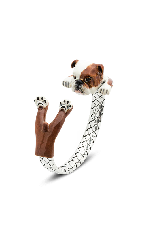 Dog Fever Enameled Hug Bracelet ENGLISH BULLDOG product image