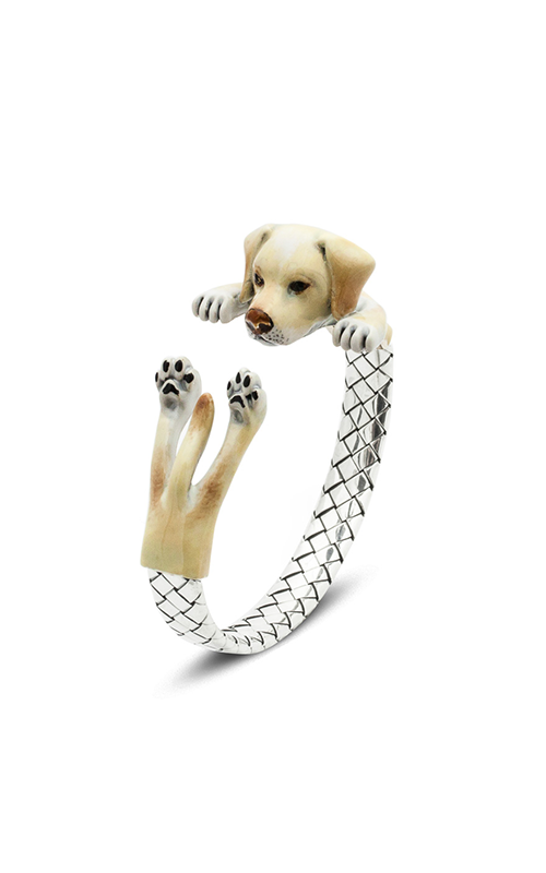 Dog Fever Enameled Hug Bracelet LABRADOR RETRIEVER product image