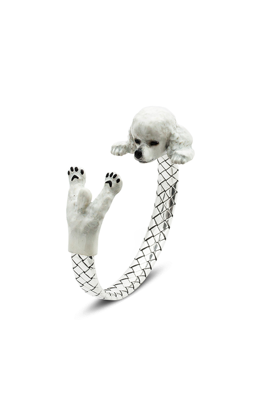 Dog Fever Enameled Hug Bracelet POODLE product image