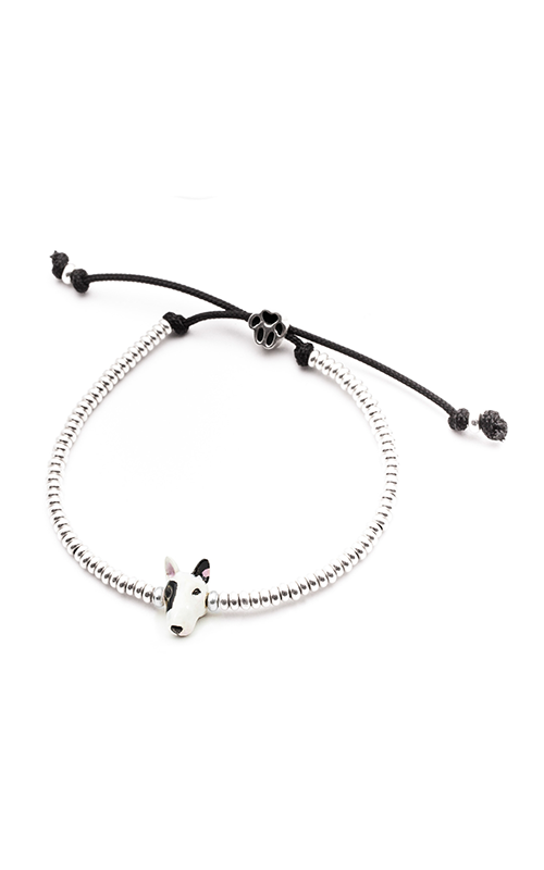 Dog Fever Enameled Head Bracelet BULL TERRIER product image