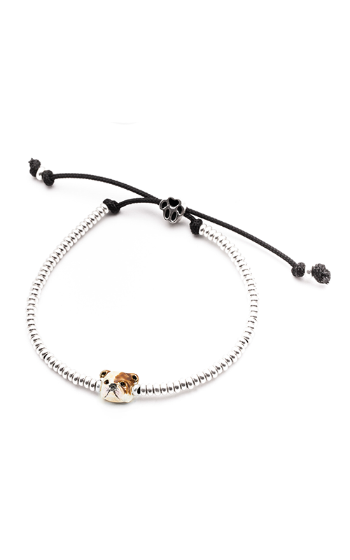 Dog Fever Enameled Head Bracelet ENGLISH BULLDOG product image
