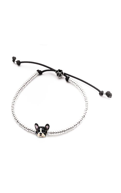 Dog Fever Enameled Head Bracelet FRENCH BULLDOG product image