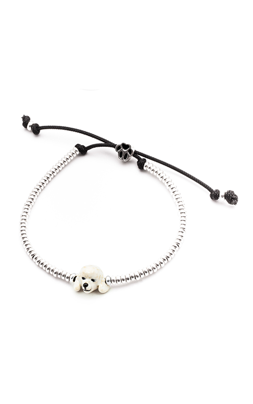 Dog Fever Enameled Head Bracelet POODLE product image