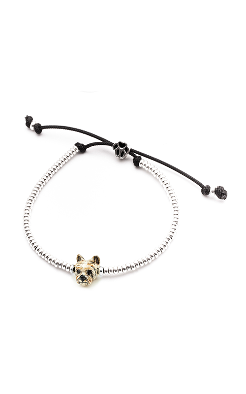 Dog Fever Enameled Head Bracelet YORKSHIRE TERRIER product image
