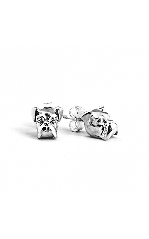 Dog Fever Head Earrings BOXER product image