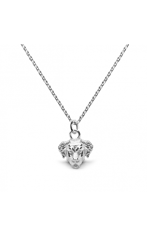 Dog Fever Head Necklace GOLDEN RETRIEVER product image