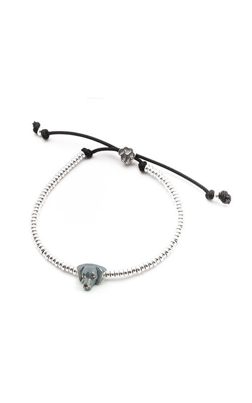 Dog Fever Enameled Head Bracelet WEIMARANER product image