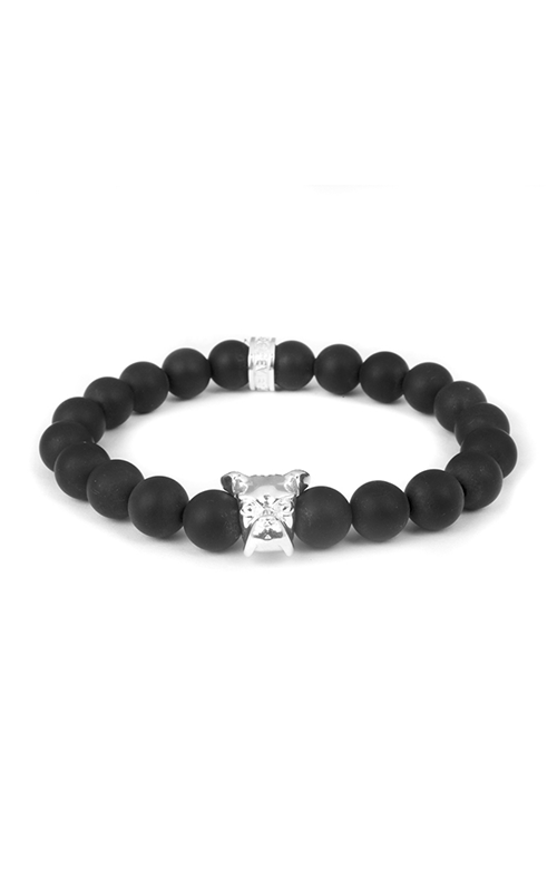 Dog Fever Onyx Bead Bracelet BOXER product image