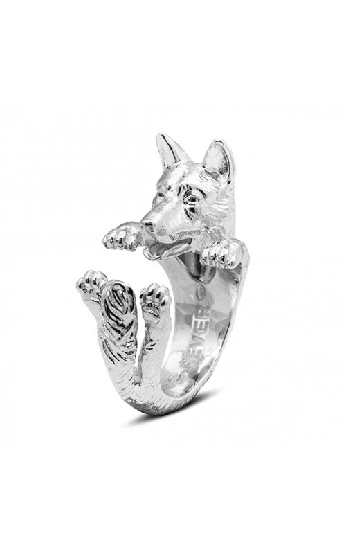 Dog Fever Hug Fashion ring GERMAN SHEPHERD product image