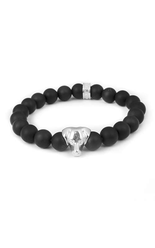 Dog Fever Onyx Bead Bracelet Labrador Retriever product image