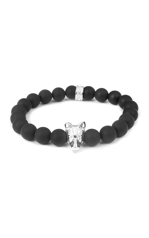 Dog Fever Onyx Bead Bracelet German Sheperd product image