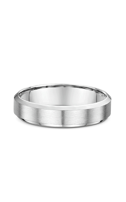 Dora Plain & Milgrain Light  Wedding band 630B00G product image