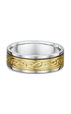 Dora Carved & Engraved Wedding Band 666A05G product image