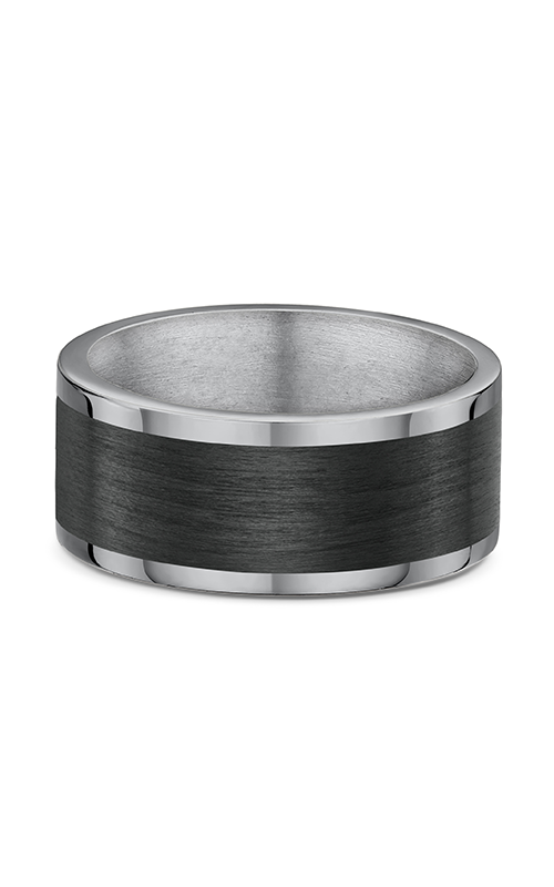 Dora Gold & Carbon FIber Wedding band 593B01T product image