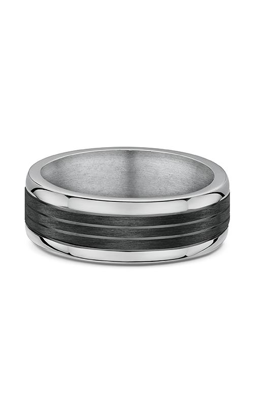 Dora Titanium & Carbon Fiber Wedding Band 605B00T product image