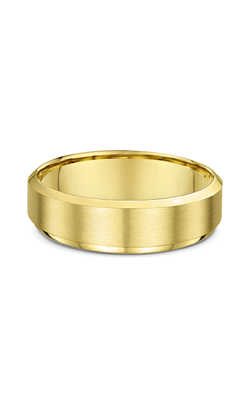 Dora Plain & Milgrain Light Wedding Band 630B01G product image
