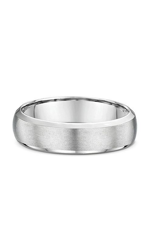 Dora Plain & Milgrain Light  Wedding band 631B00G product image
