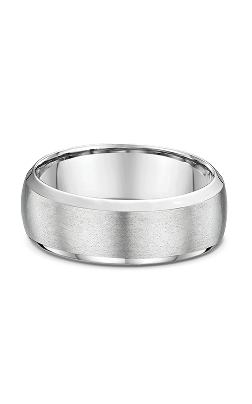 Dora Plain & Milgrain Light  Wedding band 631B01G product image
