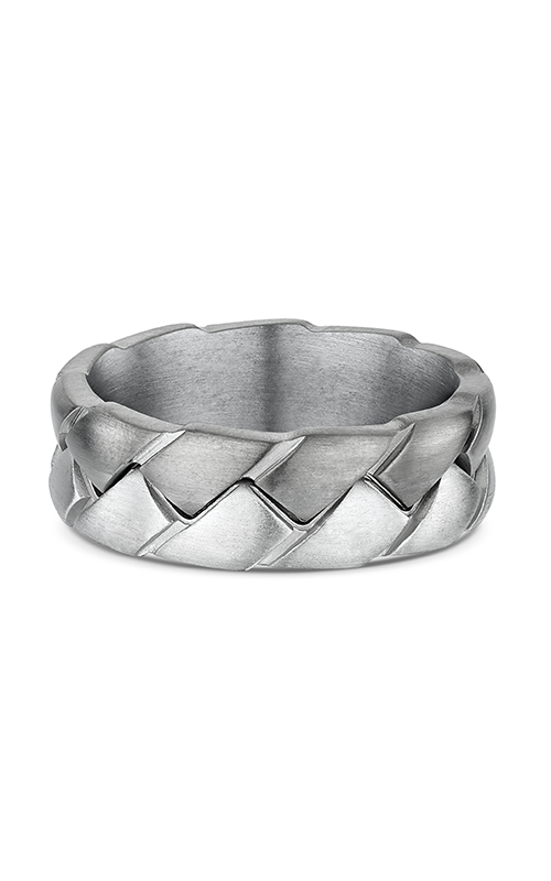 Dora Titanium Carved & Engraved Wedding band 661A00T product image