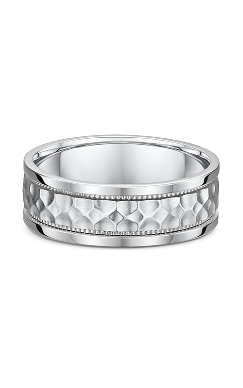 Dora Carved & Engraved Wedding Band 668A01G product image