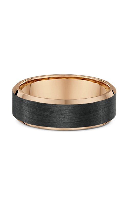Dora Gold & Carbon FIber Wedding band 592B00 product image