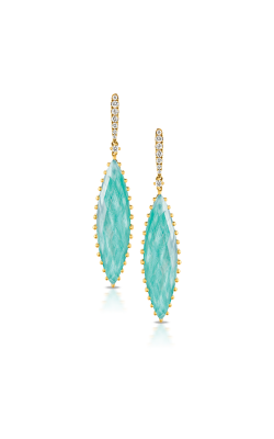 Doves By Doron Paloma Amazonite Earring E6930AZ product image
