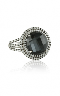 Doves by Doron Paloma Haute Hematite Fashion ring R6034HM product image