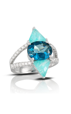 Doves By Doron Paloma London Blue Fashion Ring R8719AZLB product image
