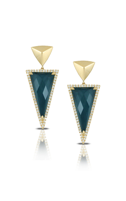Doves by Doron Paloma Midnight Ocean Earrings E7438BTHM product image