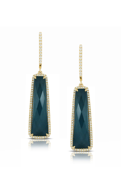 Doves By Doron Paloma Midnight Ocean Earrings E5517BTHM product image