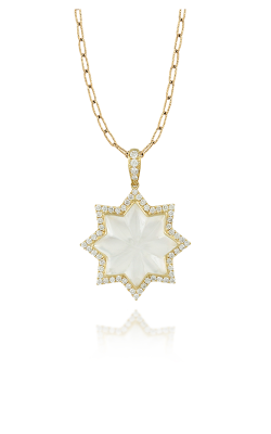 Doves By Doron Paloma White Orchid Necklace P8199WMP product image