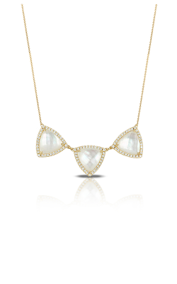 Doves by Doron Paloma White Orchid Necklace N7694WMP product image