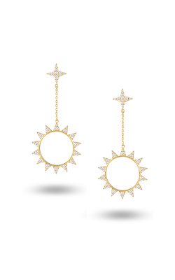 Doves By Doron Paloma Diamond Fashion Earrings E8955 product image