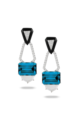 Doves by Doron Paloma London Blue Earrings E8999BOLBT product image