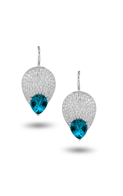 Doves by Doron Paloma London Blue Earrings E8962LBT product image