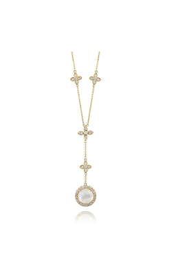 Doves By Doron Paloma White Orchid Necklace N8879WMP product image
