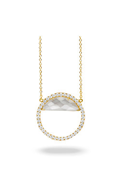 Doves By Doron Paloma White Orchid Necklace N8704WMP product image