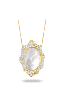 Doves By Doron Paloma White Orchid Necklace N8415WMP product image